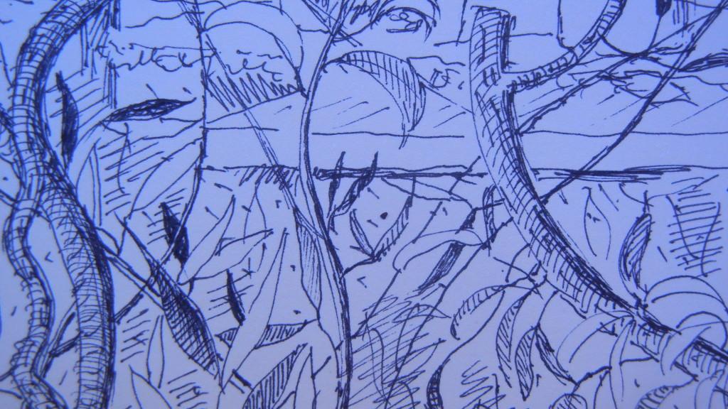 doccia Fusina/foglie