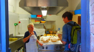 Donal and the cooking nonnas